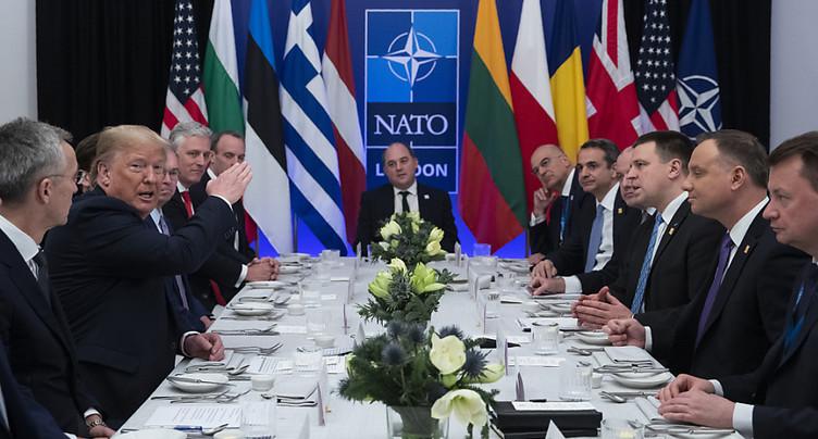 Trump a rencontré Erdogan en tête à tête au sommet de l'OTAN