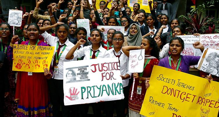 Inde: les quatre suspects d'un viol et d'un meurtre abattus