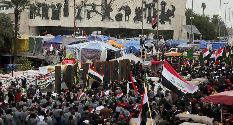 Au moins 9 manifestants tués après une attaque à Bagdad