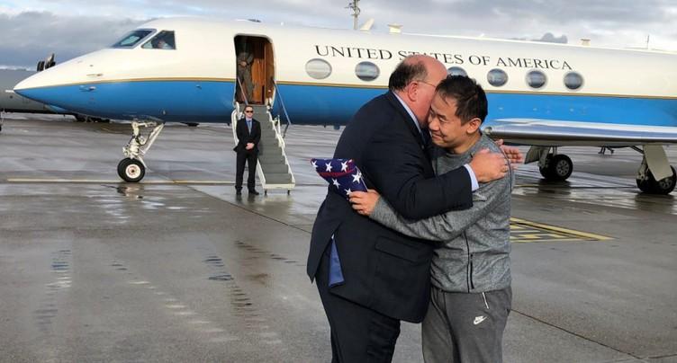 Un Iranien et un Américain échangé sur le sol suisse