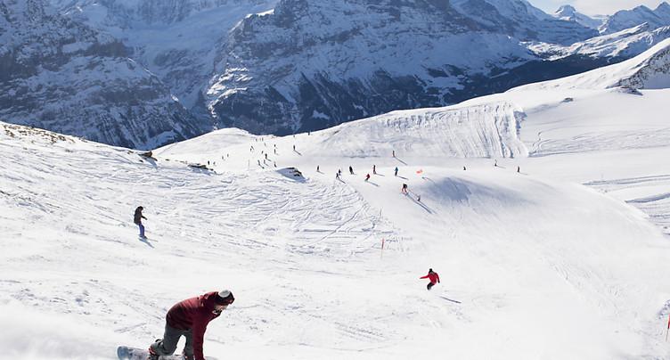 Les Jungfraubahnen vont limiter le nombre de skieurs