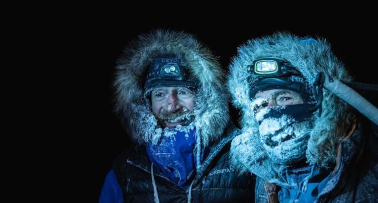 Mike Horn et Børge Ousland bouclent une expédition difficile