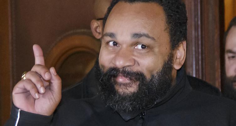 Dieudonné est convoqué par la justice genevoise en janvier