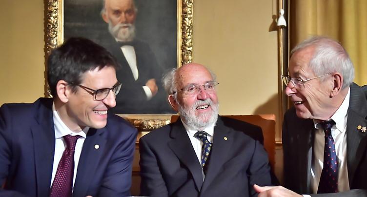 Michel Mayor et Didier Queloz ont reçu leur Prix Nobel