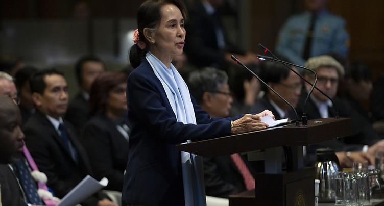Aung San Suu Kyi nie devant la CIJ toute « intention génocidaire »