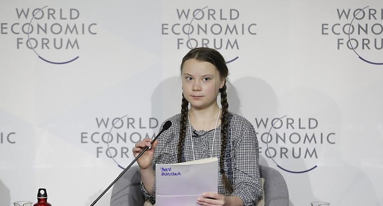 Greta Thunberg personnalité de l'année du magazine Time