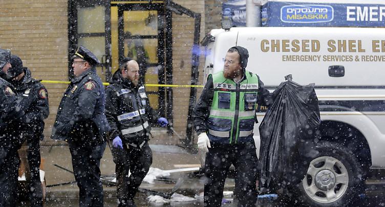 Fusillade près de New York: une épicerie casher délibérément visée