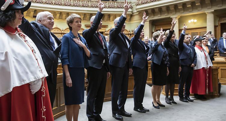 Election du Conseil fédéral: « repenser la formule magique » (presse)