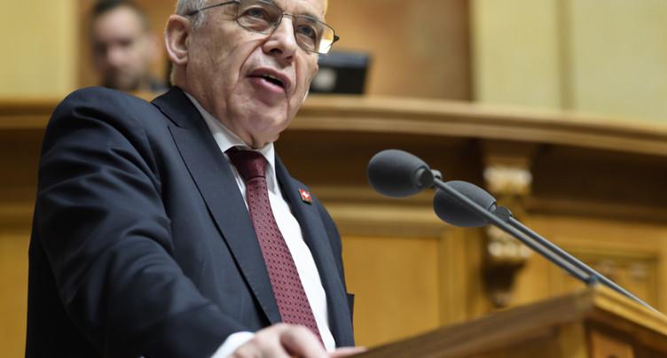 Les Chambres fédérales ont bouclé le budget 2020