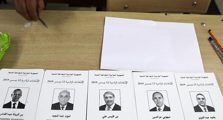 L'Algérie vote pour une présidentielle sous tension et contestée