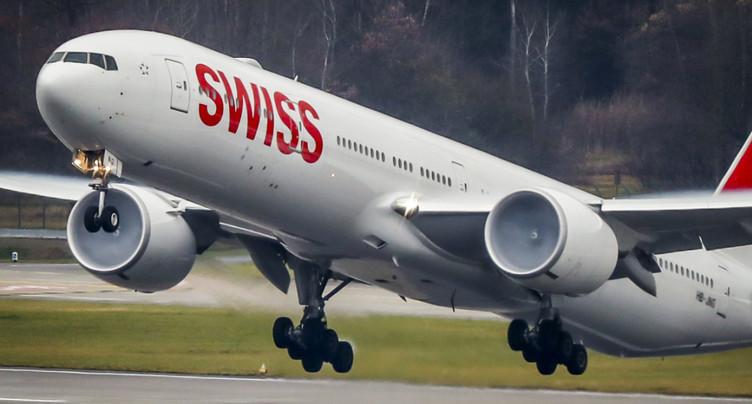 Swiss a transporté davantage de passagers en novembre