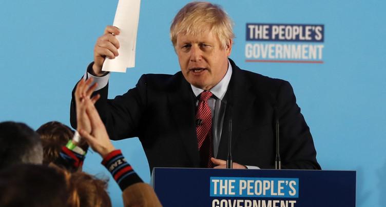 Triomphe de Boris Johnson et de sa promesse de Brexit