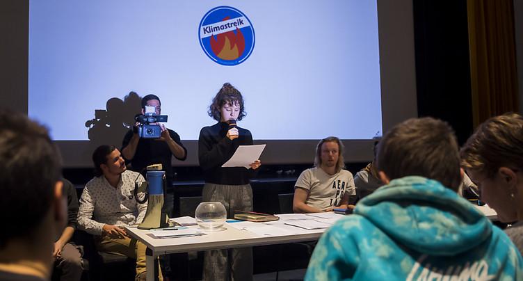 Grève du climat viole la liberté de presse, selon impressum et RSF