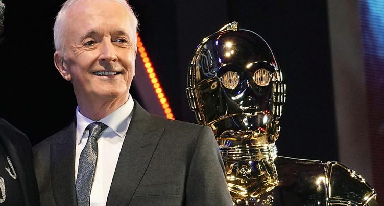 L'expérience « Star Wars » touche à sa fin pour l'acteur jouant C-3PO