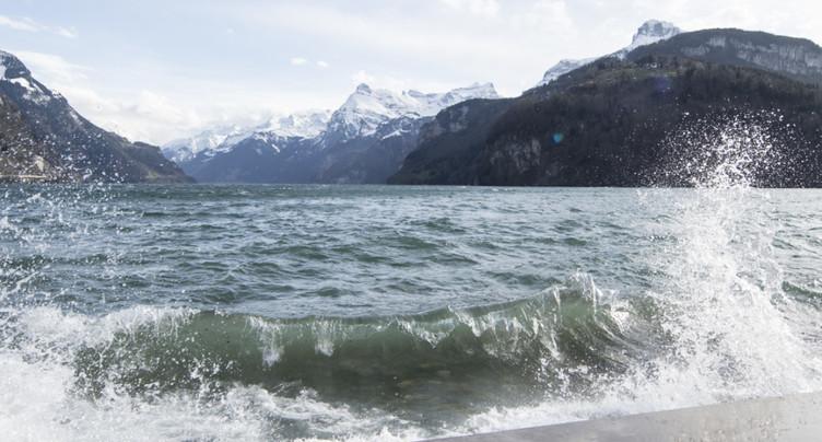 Des vents tempétueux ont ébouriffé la Suisse