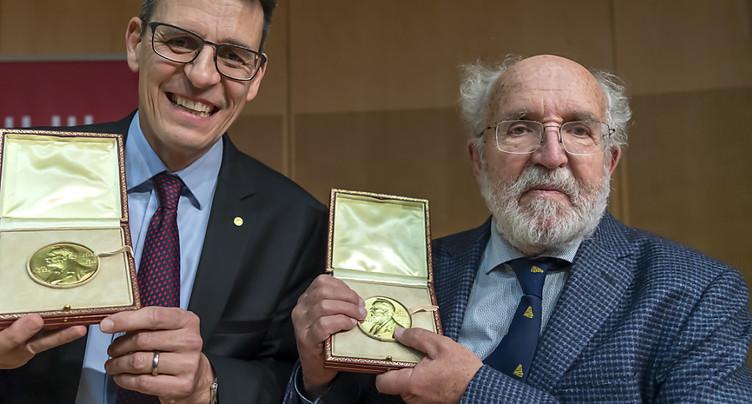 Nobel: Mayor et Queloz accueillis sur une autre planète à Genève