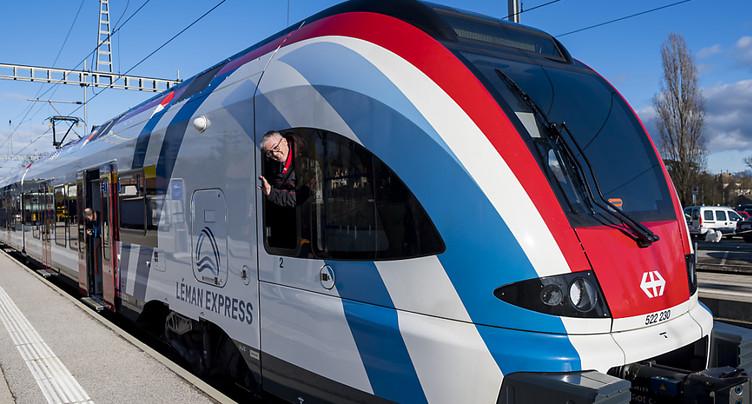 La grève gâchera un peu le lancement du Léman Express dimanche