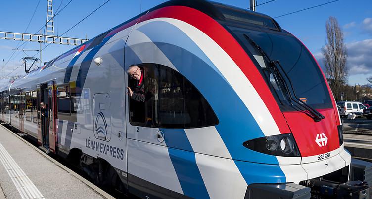 Le Léman Express est désormais sur les rails pour les usagers