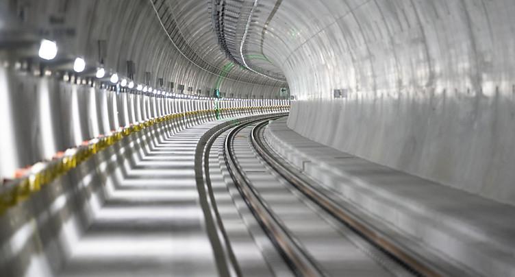 Compte à rebours lancé pour le tunnel de base du Ceneri