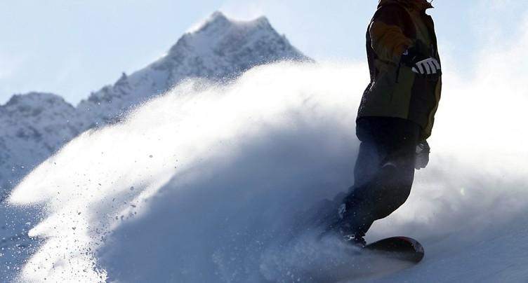 Mort d'un snowboardeur à Engelberg (OW)