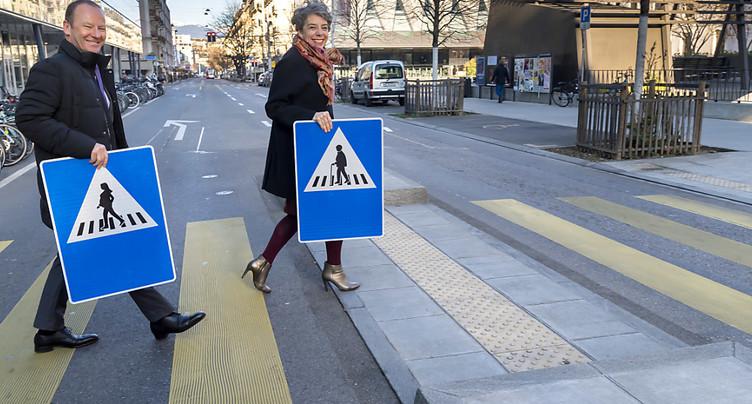 Genève: 250 panneaux de signalisation féminisés