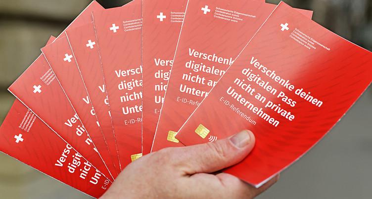 64'000 signatures contre la privatisation du passeport numérique