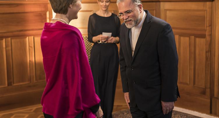 Ambassadeur d'Iran en Suisse: Berne a un « rôle actif et influent »