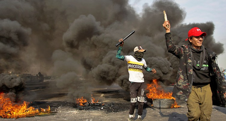 Les manifestations regagnent en vigueur à Bagdad et dans le sud