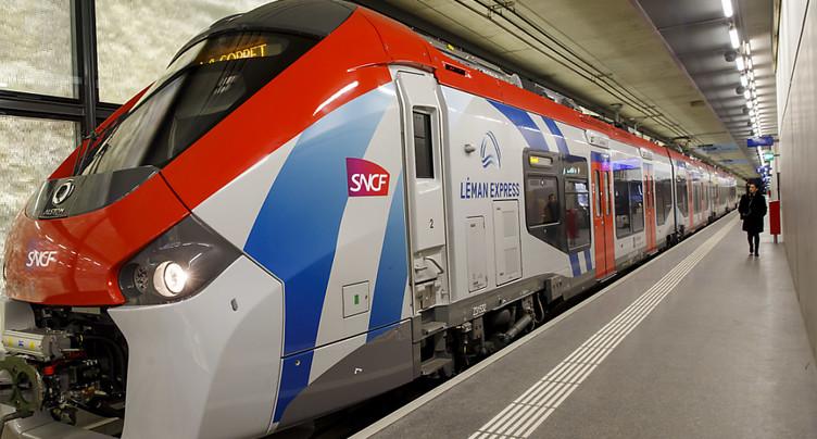 Le Léman Express transporte déjà 25'000 personnes par jour