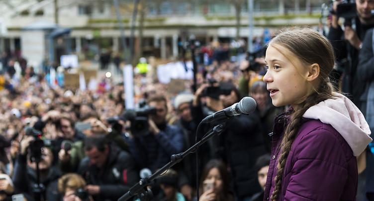 Greta Thunberg fait faux bond à des scientifiques à Davos