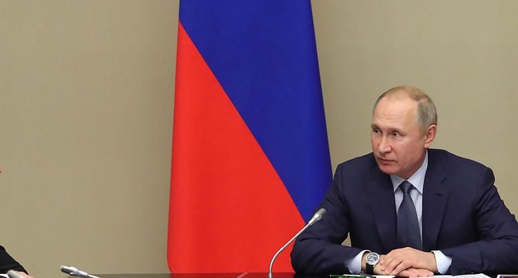 Poutine a déposé ses propositions d'amendements à la Constitution