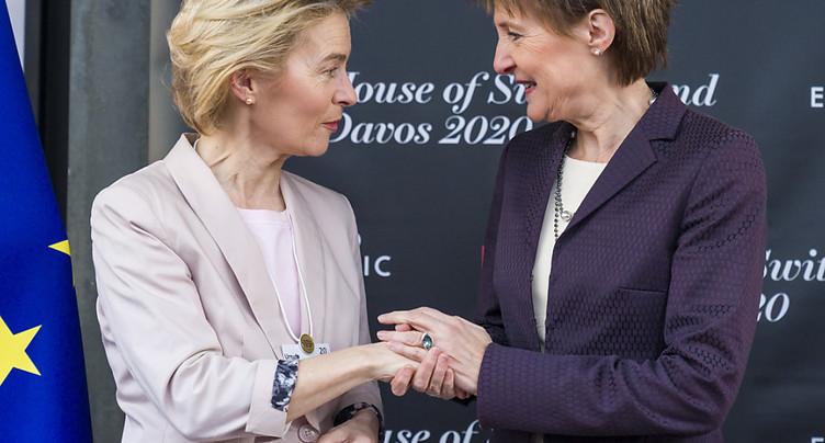 Sommaruga sent l'UE « intéressée à des solutions » avec la Suisse