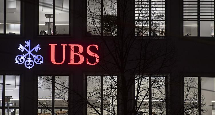 UBS voit son bénéfice reculer en 2019 à 4,3 milliards