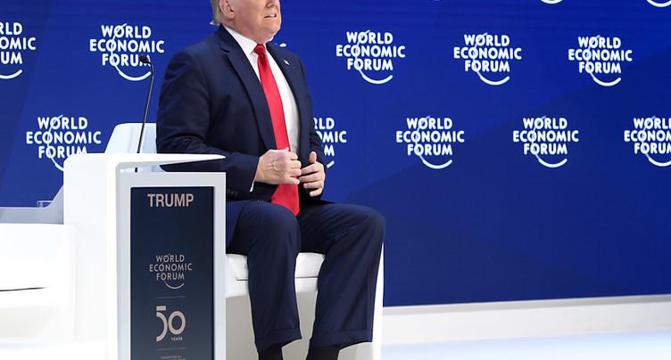 Trump revendique un « boom économique » inédit dans le monde