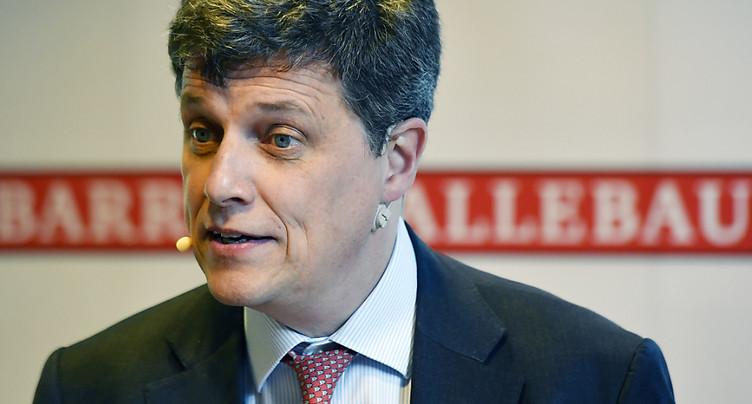 Barry Callebaut: croissance solide des volumes au 1er trimestre