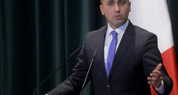 Di Maio annonce sa démission de la tête du Mouvement 5 Etoiles