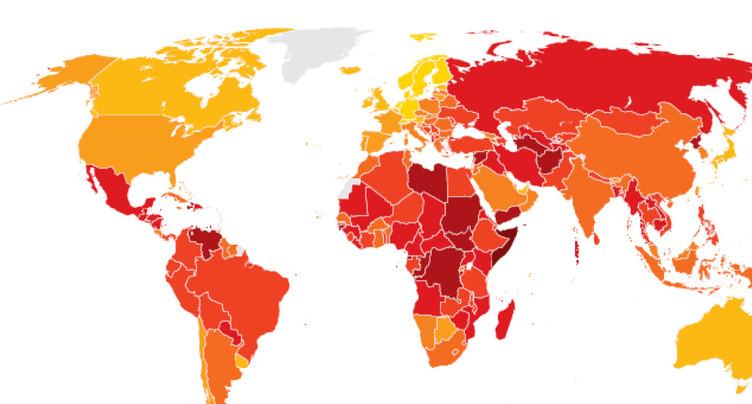 Lutte contre la corruption: la Suisse ne progresse pas