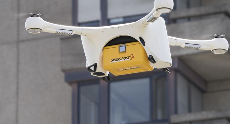 Les drones de la Poste peuvent reprendre leur envol