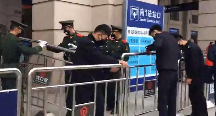 La Chine met en quarantaine Wuhan, épicentre de l'épidémie