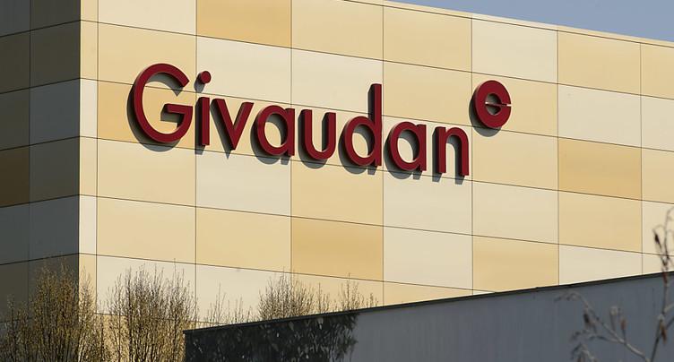 Croissance pour Givaudan en 2019, mais inférieure aux attentes