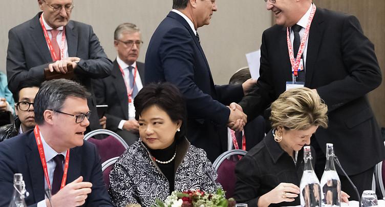 OMC: la Suisse et 16 autres membres trouvent un accord