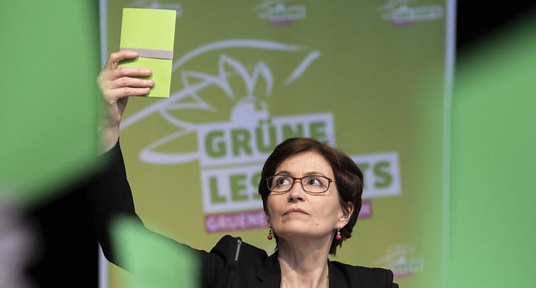 Les Verts plaident pour une politique sociale du climat