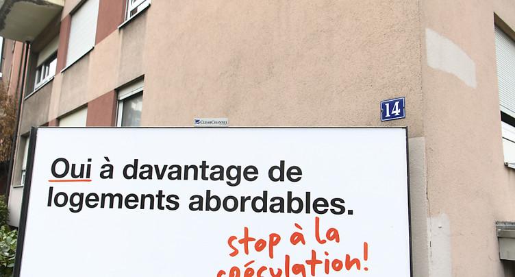 L'initiative pour des logements abordables perd du terrain