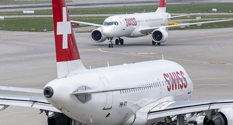 Swiss continue de desservir la Chine