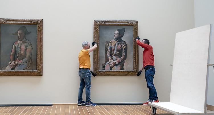 Deux « Arlequins » de Picasso se retrouvent au Kunstmuseum de Bâle