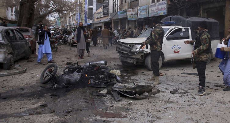 Au moins huit morts dans un attentat-suicide au Pakistan