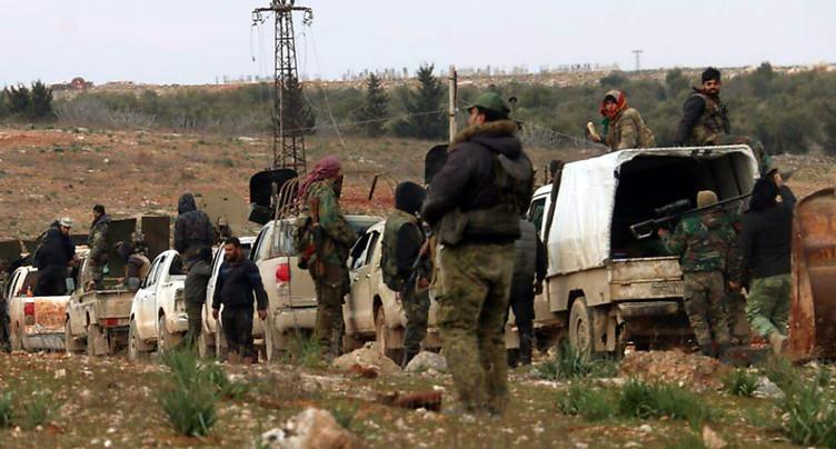 Offensive en Syrie: 900'000 déplacés depuis décembre