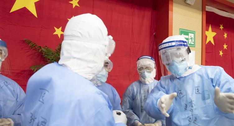 Le bilan en Chine dépasse les 1'800 morts