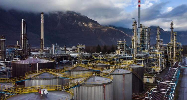 Il faudra cinq ans pour démanteler la raffinerie de Collombey-Muraz