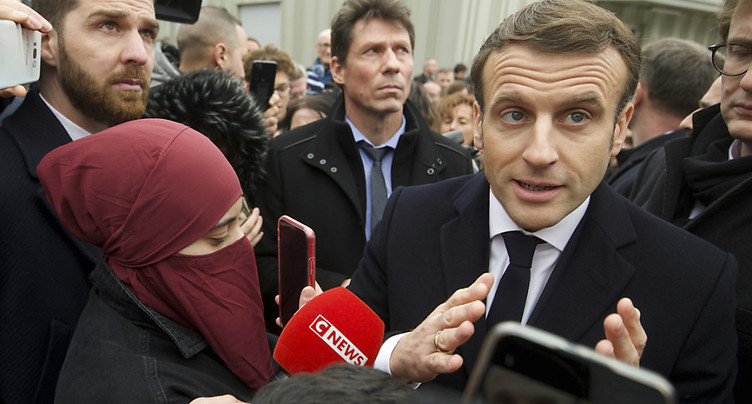 Emmanuel Macron s'engage contre « l'islam politique »